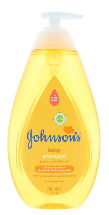 Johnsons Baby 750ml Shampoo Regular New Pk