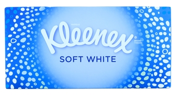 Kleenex Soft White Tissues Box 70'S