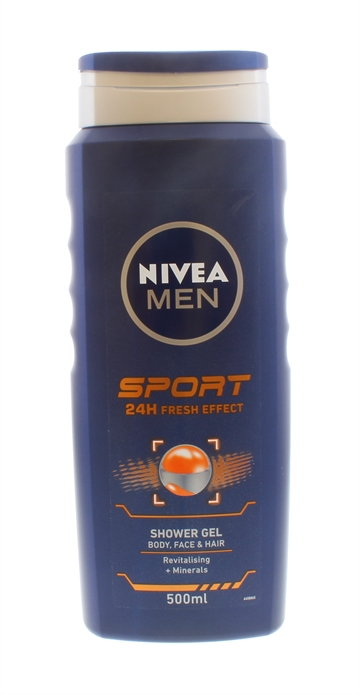 Nivea For Men Sport Shower Gel 500ml