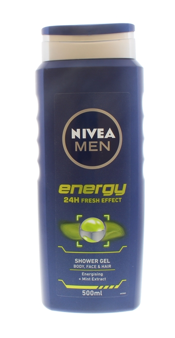 Nivea 500ml Shower Gel For Men Energy