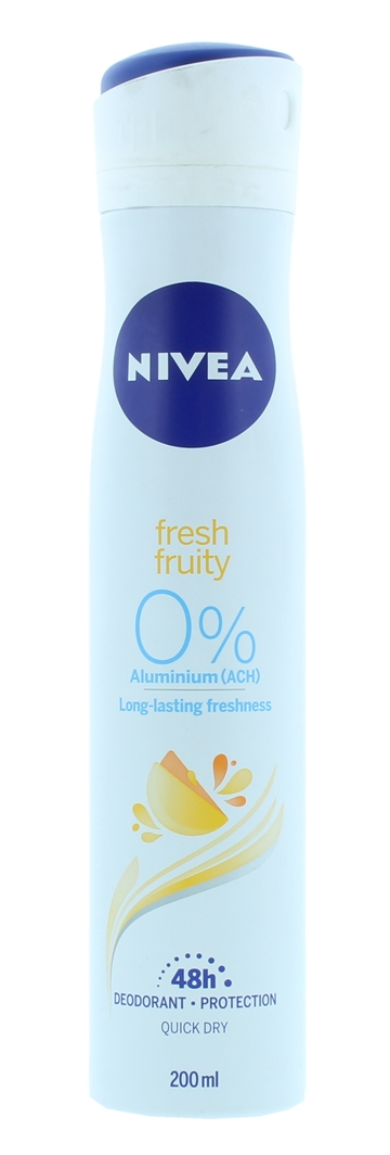 Nivea 200ml Deo Fruity 48Hr Protection