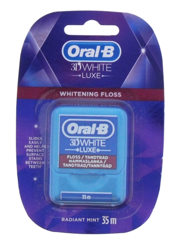 Oral B 3D 35M Floss Luxe Whitening Mint