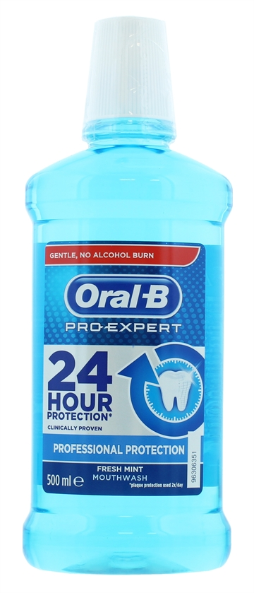 Oral-B Pro Expert Professional 500ml Mouthwash Protection Rinse
