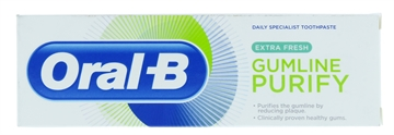 Oral B 75ml Toothpaste Purify Gentle White