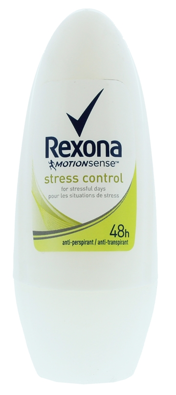 Rexona 50ml Roll On Antiperspirant Stress Contrl