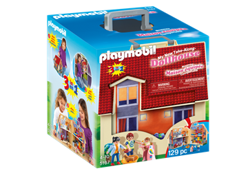 Playmobil 5167 Ny Take-Away Dukkehus, Konstruktion Legetøj