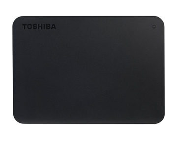 Toshiba Canvio Basics 500Gb New, Black