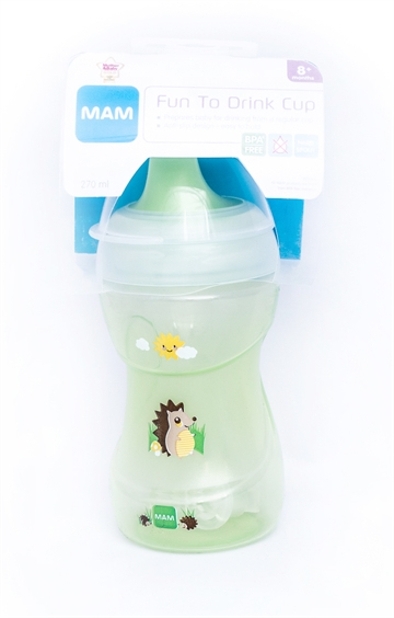 MAM Fun to drink cup grøn 270ml 8+ måneder