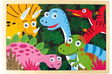 "Puzzle aus Holz ""Dinosaurier"""