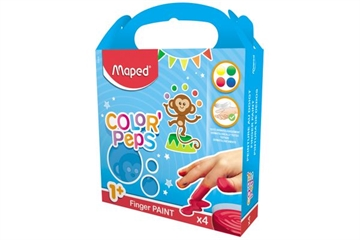 "Fingerfarben, ""Color'Peps"" x4 MF"