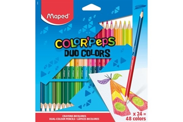 Maped Color'Peps, Duo, 24/48 Farben