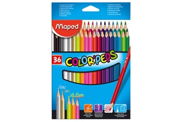 Maped Color'Peps Crayons - 36 Stk.