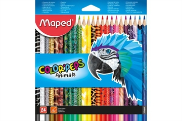 Maped Color 'Pep, Tiere, 24 Stück.