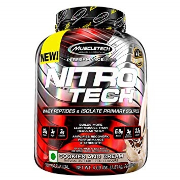 MuscleTech Nitro tech Performance Series 908g cookies & cream