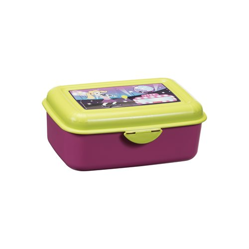 Lunch box w/click lid