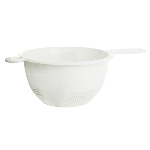 Round strainer w/ long handle