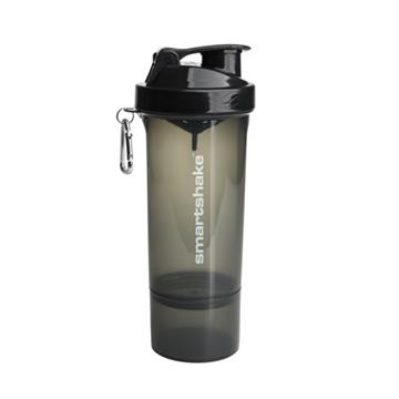 Smart Shake Slim 500ml - Gunsmoke Black