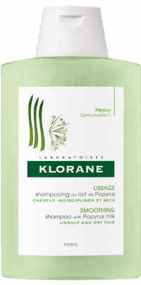 Klorane Smoothing Shampoo With Papyrus Milk Unisex Nicht-professionell 200 ml