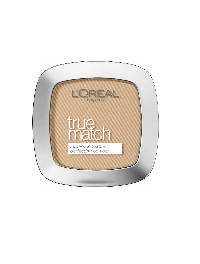 L'Oreal Paris Make-Up Designer True Match Powder W5 Golden Sand Gesichtspuder 1