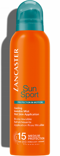 Lancaster Sun Sport Cooling Invisible Mist SPF15 200ml Medium Protection