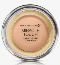 Max Factor Miracle Touch Foundation-Make-up Behälter Puder