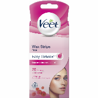 Veet Wax Strips Wachsenthaarungs-Set