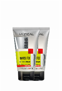 L'Oreal Paris Studio Line Invisi Fix 24H Clear & Clean Gel Super Strong 150 ml Haargel Unisex